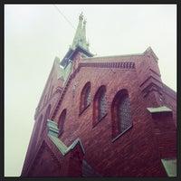 Photo taken at Deutsche Kirche by Peter S. on 5/18/2013