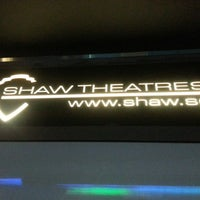 Photo taken at Shaw Theatres by Joseph B. on 11/26/2012
