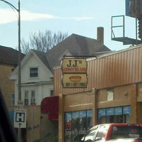 Photo taken at JJ Hot Dogs by Amy F. on 11/3/2012