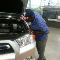 Photo taken at Headquarter Toyota by Rolanda P. on 10/6/2012
