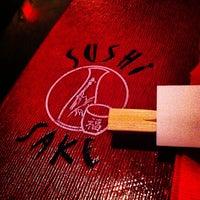Photo taken at Sushi Sake Country Walk by kitty S. on 6/15/2013