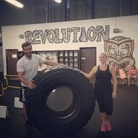 Photo taken at Revolution- Fitness Evolved by Milk M. on 6/17/2015