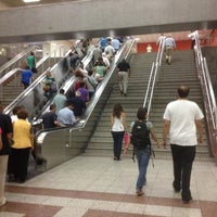 Photo taken at Syntagma Metro Station by Marietta on 9/18/2012