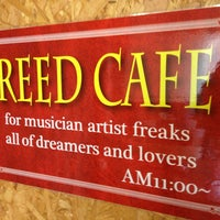 Photo taken at Reed Cafe by Hiro N. on 7/21/2013