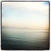 Photo taken at Παραλία Ζούμπερι by Maria D. on 5/12/2013