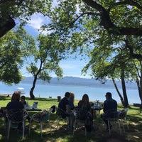Photo taken at Κτήμα Πυθάρι Lake Living by Maria D. on 4/17/2016