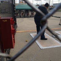 Photo taken at Batting Cages by Veronica on 6/16/2013