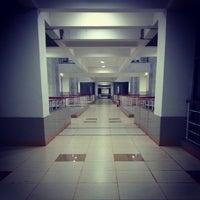 Photo taken at Takshashila Building by Mohul M. on 12/12/2013