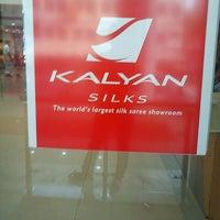 Photo taken at Kalyan Silks by Rahul M. on 10/27/2012