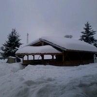 Photo taken at хижа Христо Смирненски (Hristo Smirnenski Hut) by Desislava K. on 2/17/2013