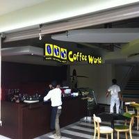 Photo taken at Coffee World Max One Hotel Bukit Jimbaran by Adi Pradana P. on 5/22/2013