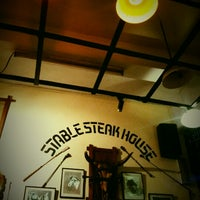 Photo taken at Stable Steak House by Iuejan B. on 3/10/2013