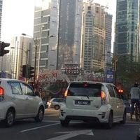 Photo taken at Traffic Light dpn KLCC by Iuejan B. on 2/22/2013