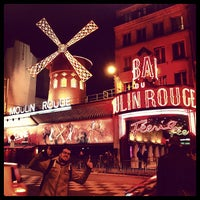 Photo taken at Moulin Rouge by Kike D. on 3/23/2013