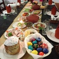 Photo taken at Будьмо (Bud'mo) Restaurant by Anastasia on 5/5/2013