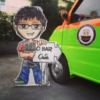 Photo taken at O Bar 行動咖啡館 by Yifan Y. on 11/2/2013