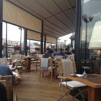 Снимок сделан в Ресторан & Lounge «Река» пользователем Валерий 6/10/2013