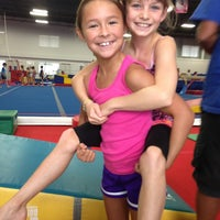 Photo taken at Best Gymnastics by Melissa N. on 7/27/2013