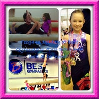 Photo taken at Best Gymnastics by Melissa N. on 10/4/2013
