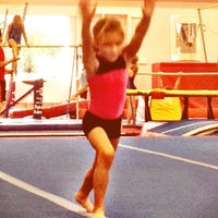 Photo taken at Best Gymnastics by Melissa N. on 9/25/2012