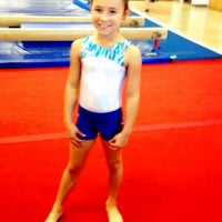 Photo taken at Best Gymnastics by Melissa N. on 11/30/2012