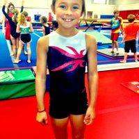 Photo taken at Best Gymnastics by Melissa N. on 10/16/2012