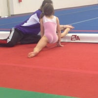 Photo taken at Best Gymnastics by Melissa N. on 4/12/2013