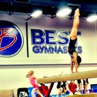 Photo taken at Best Gymnastics by Melissa N. on 5/10/2013