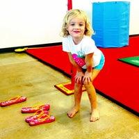 Photo taken at Best Gymnastics by Melissa N. on 10/3/2012