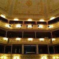Photo taken at Lesya Ukrainka Theater of Russian Drama by Иван Х. on 11/27/2012
