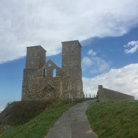 Photo taken at Reculver Towers and Roman Fort by Gökçe R. on 8/9/2017