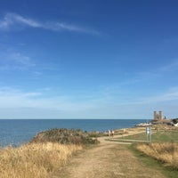 Photo taken at Reculver Towers and Roman Fort by Gökçe R. on 9/1/2016