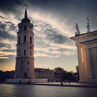 Photo taken at Cathedral Square by Mykola on 6/9/2013