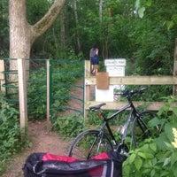 Photo taken at Stricker's Pond Park by Ilya V. on 6/14/2017