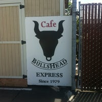 Photo taken at BullsHead Express by Manny D. on 5/28/2013
