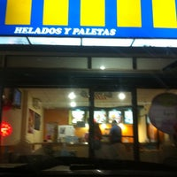 Photo taken at Helados Dolphy by Nelva on 10/28/2012