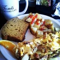 Photo taken at Toni's Courtyard Cafe by Mina on 11/9/2013