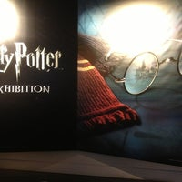 Photo taken at Harry Potter: The Exhibition by Laura on 3/22/2013
