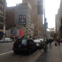 Photo taken at Mega Bus - 7th Ave & 27th St by Chako on 11/10/2012