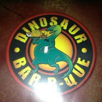 Photo taken at Dinosaur Bar-B-Que by Brad on 12/27/2012