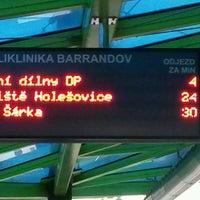 Photo taken at Poliklinika Barrandov (tram, bus) by Karel K. on 10/8/2016