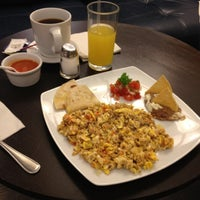 Photo taken at The Centurion Lounge by American Express by David on 10/7/2012