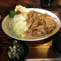 Photo taken at お食事ふるさと by パラッパ on 6/21/2013