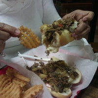 Photo taken at Abner's Cheesesteaks by Mimi R. on 3/14/2013