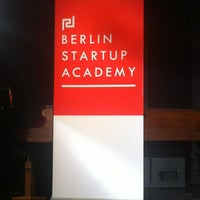 Photo taken at Berlin Startup Academy by Peter on 3/22/2013