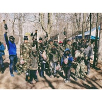 Photo taken at Cousins Paintball Staten Island by Sheryl Mae on 3/30/2013