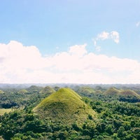 Photo taken at The Chocolate Hills by Sheryl Mae on 12/29/2012