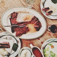 Photo taken at Peter Luger Steak House by Sheryl Mae on 4/23/2013