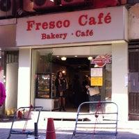 Photo taken at Fresco Cafe by John Y. on 12/6/2013