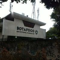 Photo taken at Botafogo de Futebol e Regatas by Isaiah B. on 2/26/2013